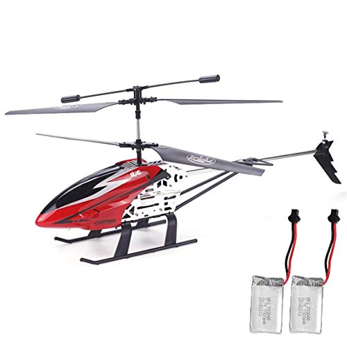 WanNing RC Helicopter, 2.4GHz 3.5CH Rechargeable Alloy Aircraft Drone, Alloy RC Helicopter with Gyroscope and LED Lights, Best Toy Gift for Children and Adults