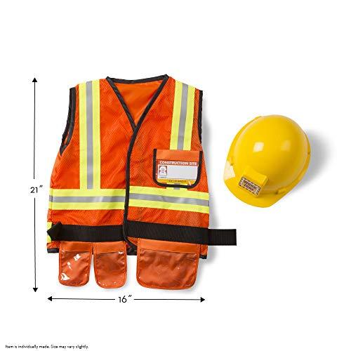Melissa & Doug Construction Worker Costume Set