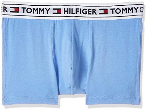 Tommy Hilfiger Herren Trunk Boxershorts, Blau (Cornflower Blue), M