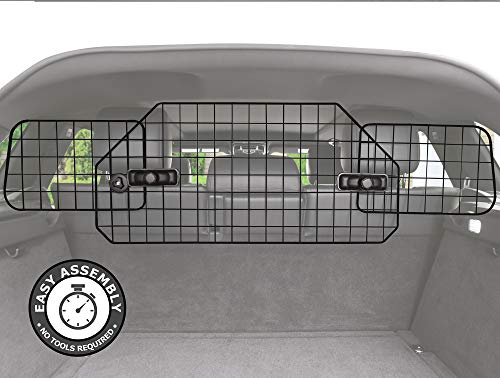 Pawple Dog Barrier for SUV's, Cars & Vehicles, Heavy-Duty - Adjustable Pet Barrier, Universal Fit