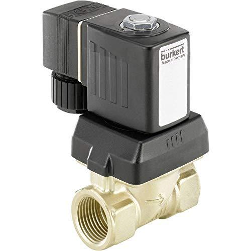 Bürkert Servogesteuertes Ventil 221609 230 V/AC G 1/2 Muffe Nennweite 10 mm 1 St.