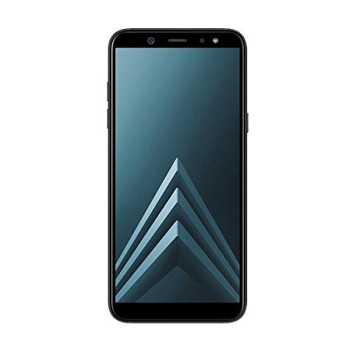 Samsung Galaxy A6 - Smartphone libre Android 8,0 (5,6 HD+), Dual SIM, Cámara Trasera 16MP + Flash y Frontal 16MP + Flash, Negro, 32 GB 5.6  - Versión española