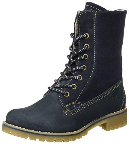 Tamaris Tamaris Damen 26443 Combat Boots, Blau (Navy), 38 EU