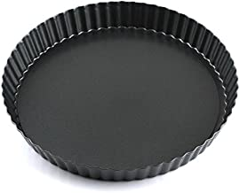 Z-Color 11 inch Non-Stick Loose Bottom Cake Mold Quiche Pan Chrysanthemum Pie and Cake Mould Pizza Pan