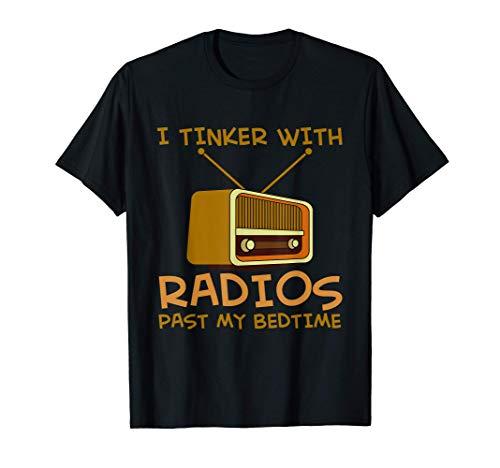 Radiostereo Radioshack Scanner Radios and CD Players T-Shirt