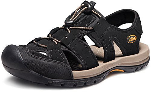 ATIKA Men's Sports Sandals Trail Water Shoes
