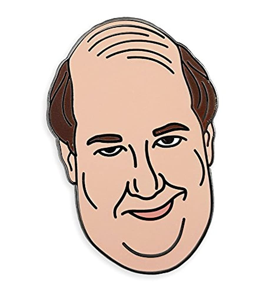 Pinsanity The Office Kevin Malone Funny Enamel Lapel Pin