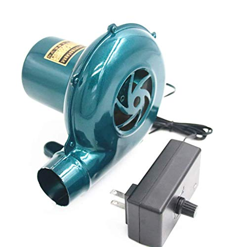Professional Blower, Strong Wind Stove Grilling Combustion Air Mover, Iron, 1.8m Long Line 1yess (Size : B4CM)