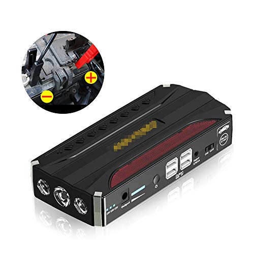Sale!! JUNHAO 600A12V Car Emergency Start Power Supply Intelligent Protection Universal Power Supply...