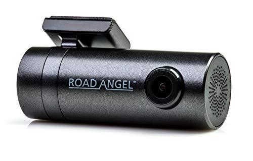 Halo Go by Road Angel - Cámara para salpicadero, cámara de 1080 p y 140° con visión nocturna superior, wifi incorporado, modo invernal si se utiliza el kit de cableado Halo Drive/Go