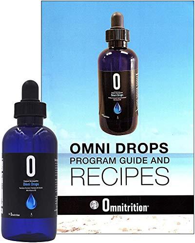 Omni Drops Diet Drops with Vitamin B12 - 4 oz with Program Guide
