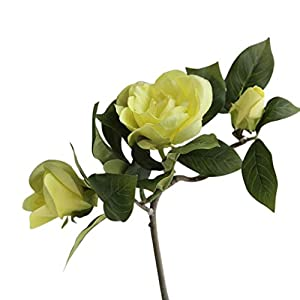 DUO ER Gardenia Simulation Flower Silk Cloth Artificial Flowers Real-Look Wedding Home Decoration (Color : 2)