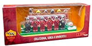 With the AS Roma brick team, you can collect your favourite team and get to know each player better Figures are compatible with similar products by other brands Recommended age: 3+