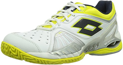 Lotto Sport Raptor Ultra IV Clay W, Scarpe da Tennis Donna, Multicolore (Mehrfarbig (White/Chick), 38.5 EU (5.5 Damen UK)