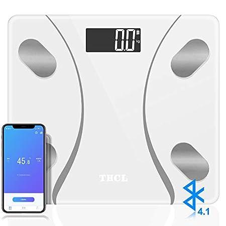 【7/31まで】THCL Bluetooth対応、21項目測定対応スマート体重計&体組成計 1,144円送料無料!