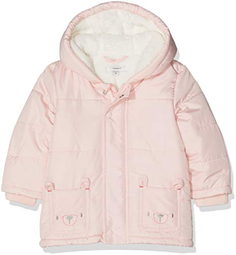 NAME IT Baby-Mädchen NBFMAKI Jacket Jacke, Rosa (Strawberry Cream Strawberry Cream), 74