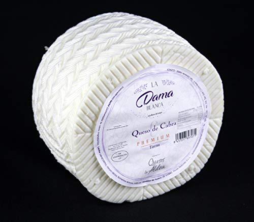 Queso de Cabra Tierno La Dama Blanca Premium 1 kg