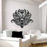 Lotus tatuajes de pared arte patrón yoga etiqueta de la pared artista inicio etiqueta de la pared42x36cm