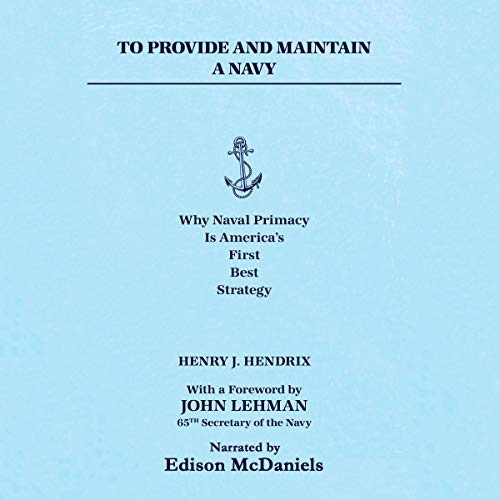 To Provide and Maintain a Navy cover art