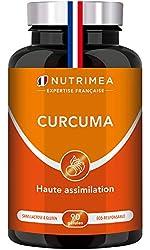 UN CONCENTRE NATUREL DE BIENFAITS : utilisé depuis des milliers d'années, le curcuma agit contre les inflammations (notamment les problèmes articulaires) et les problèmes digestifs. Très riche en antioxydants, il lutte aussi contre le vieillissement ...