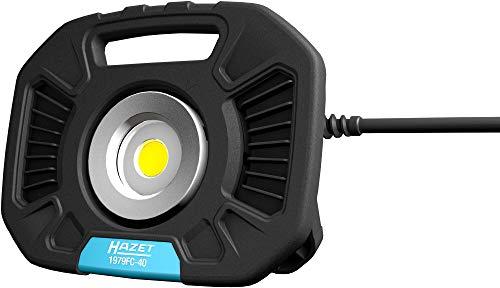 Hazet LED Arbeitsstrahler (40 Watt, dimmbar: 400-4000 Lumen, Länge: 280 mm) 1979FC-40, Schwarz