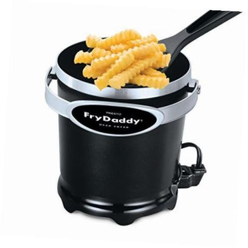 Cool Touch Electric Deep Fryer Kettle -- Nonstick Pot Food Cooker Kitchen