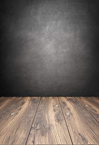 Fondo de Pared para fotografía Piso de Pared de Cemento Fiesta Gris ladrillo Retrato de niño fotografía telón de Fondo Estudio fotográfico A19 10x7ft / 3x2,2 m