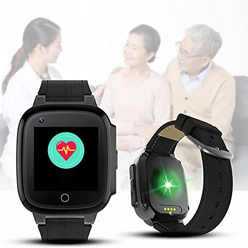 FVIWSJ Smart Watch Reloj Inteligente para niños y niñas y Mayores con cámara Divertida,Video,Llamadas SOS bidireccionales 1,3 '' IPS HD,Pantalla táctil Color