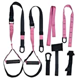 GRASEP Home Gym Bodyweight Resistance Straps Workouts for Home Fitness Bands Kit with Door Anchor...