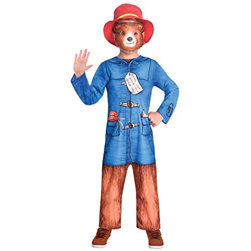 amscan Kindergröße Paddington Bär Kostüm Small 3-4 Years