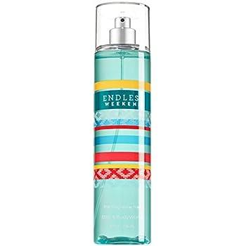 Bath & Body Works Fine Fragrance Mist for Women, Endless Weekend, 8 Ounce