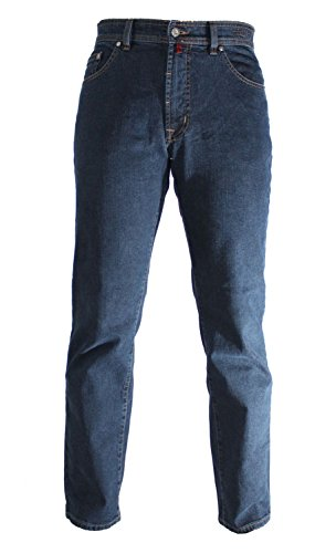 Pierre Cardin DIJON - Nr. 3231 - Comfort Fit Herren Stretch Jeans - JM Edition, Blue Black Indigo (3231 161.02), 34W / 34L