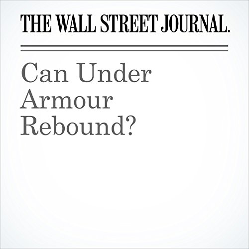 Can Under Armour Rebound? copertina