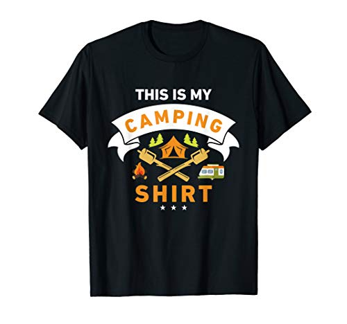 This Is My Camping Shirt Funny Camper T-shirt T-Shirt