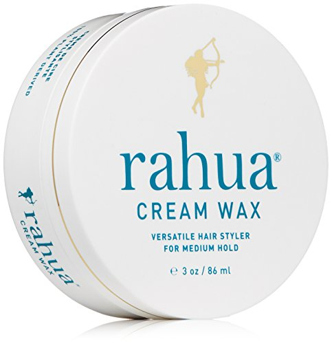 Rahua Cream Wax, 3 oz, for Medium Hold for Dry, Frizzy, Wavy, Curly, Short Hair, All Hair Types, Non Greasy Hair Cream Wax, Adding Volume and Texture, Natural Looking Hairstyle