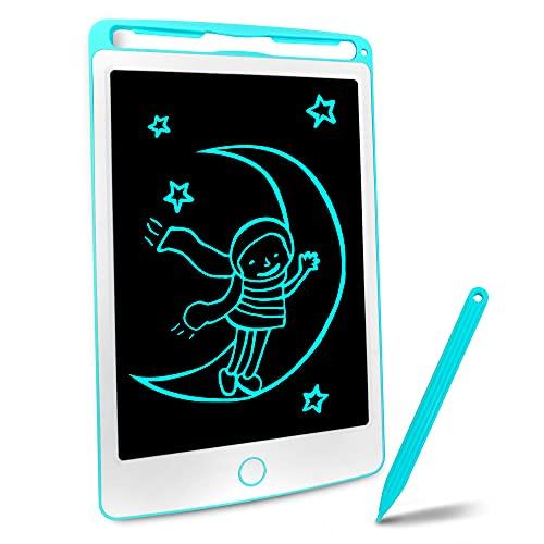 Richgv Tavoletta Grafica LCD Scrittura Digitale, Elettronico 8.5 Pollici Portatile Ewriter Cancellabile Disegno Pad Writing Tablet con Stilo per Bambini Adulti della Casa Scuola Ufficio