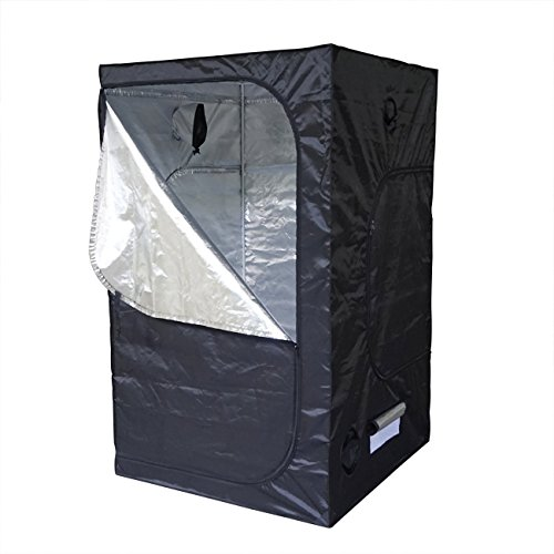 ECO-WORTHY 48'X48'X80' Mylar Hydroponic Grow Tent for Indoor Plant Growing