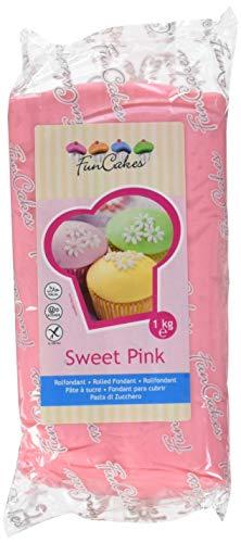 FunCakes Pasta di Zucchero Rosa Chiaro - 1000 gr