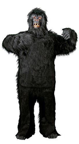 Foxxeo Premium Gorila Disfraces para Hombre Animal Adulto Halloween Carnaval, Tamaño: XXL