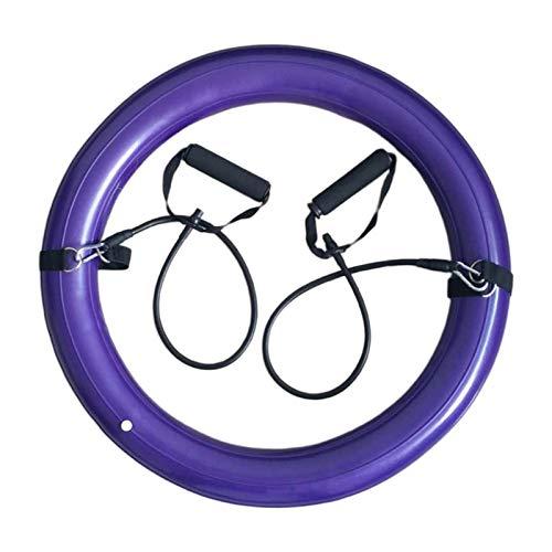 sharprepublic Base Inflable del Soporte del Anillo de La Estabilidad para La Silla Que Se Sienta de La Bola de Pilates del Ejercicio - Púrpura, 45cm