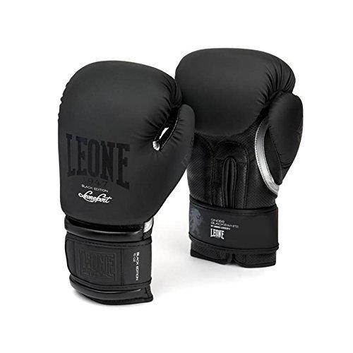 Leone 1947 Boxhandschuhe, Schwarz / Weiß