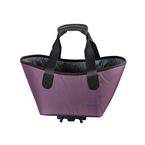 Racktime Unisex-Erwachsene Agnetha Einkaufstasche, Violet Moon, 15 Liter