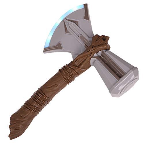 YHK Thor Stormbreaker Elektronische Axt, Avenger 3 Prop mit Blitzlicht und Sound, Infinity War Stormbreaker