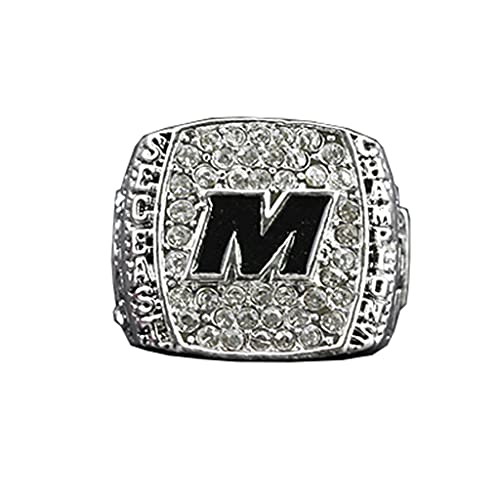University of Missouri NCAA 2015 Tigers Orange Bowl Championship Ring Replica Ring Collection Regalo 11 Tamaño con Caja,Without Box,11