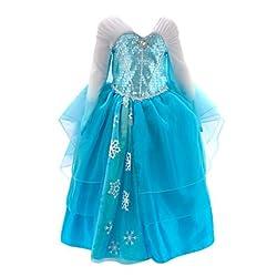 robe déguisement elsa