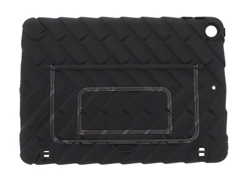 Gumdrop Hideaway Case with Kickstand for The Apple iPad 9.7 (6th and 5th Gen) Tablet for K-12 Students, Teachers and Kids - Shock Absorbing, Rugged, Extreme Drop Protection (Black)