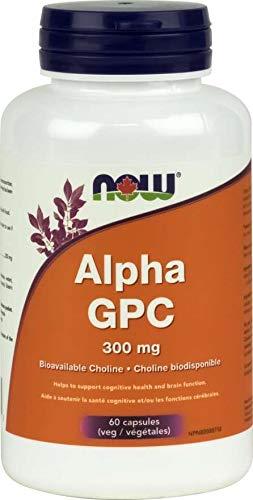 NOW Alpha GPC 300mg 60vcap