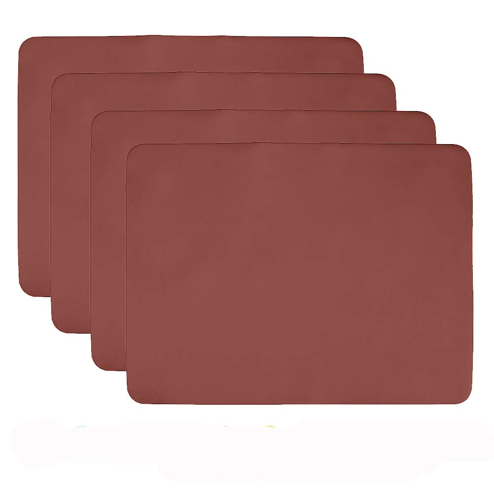 Aspire Placemat Thicken Non Slip Waterproof Silicone Placemat Tablemat