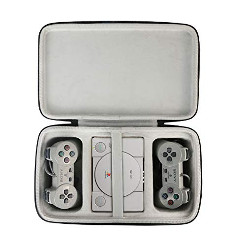 Khanka Hard Travel Case Replacement for Sony Playstation Classic Console,Case Only