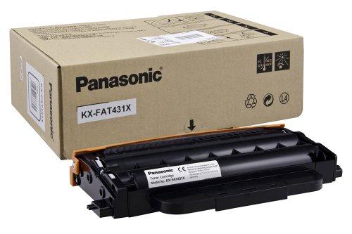 Panasonic KX-FAT431X 6000páginas Negro tóner y cartucho láser - Tóner para impresoras láser (6000 páginas, Negro, 1 pieza(s))